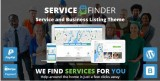 Service Finder – Provider and Business Listing WordPress Theme-$59-@Themeforest