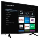 Sharp – 65″ Class – LED – 2160p – Smart – 4K UHD TV with HDR – Roku TV-Save $250-$449.99