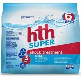 6-Pack HTH Pool Shock Super Shock Treatment (6-lbs)