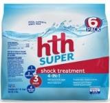6-Pack HTH Pool Shock Super Shock Treatment (6-lbs)