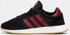 adidas Originals I-5923 Boost Runner Trainer | Black / Burgundy / Black-$66.50