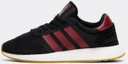 adidas Originals I-5923 Boost Runner Trainer | Black / Burgundy / Black-$66.50