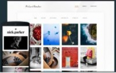 Shutter-responsive photography theme- Free -with hosting