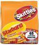 65-Piece 31.9oz Skittles and Starburst Fun Size Variety Mix