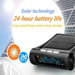 Solar Wireless TPMS LCD Car Tire Pressure Monitoring System W/ 4 External Sensor $18.88