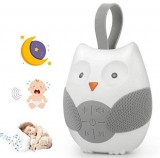 Owl Noise Machine for Baby, Zhouxt White Noise Baby Sleep Machine $9.99