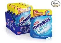 4-Pack 120-Count Mentos Pure Fresh Sugar Free Gum (Fresh Mint)