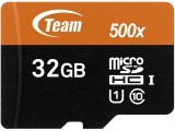 Team 32GB microSDHC UHS-I/U1 Class 10 Memory Card with Adapter, Speed Up to 80MB/s-56% OFF
