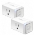 TP-LINK Kasa Smart Wi-Fi Plug Mini (2-Pack)