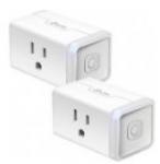 TP-LINK Kasa Smart Wi-Fi Plug Mini (2-Pack)