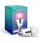 TP-Link Kasa Smart WiFi Light Bulb, Multi-Color, Works with Alexa – $29.99
