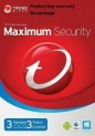 Trend Micro Maximum Security 2018 version12 3 Devices 3 Years for PC, Mac, Android & IOS   Product Key card Win10