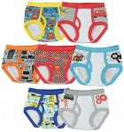 7-Pack Handcraft Disney Cars Underwear for Toddler Boys (4T) $10