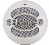 Blue Microphones Snowball USB Microphone (White or Aluminum)