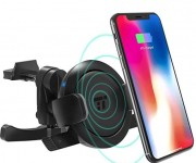 TaoTronics Car Vent Phone Mount with 5W Wireless Charging