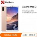 Xiaomi Mi Max 3 6GB RAM 128GB ROM Snapdragon 636 Octa Core Smartphone $207.37 at Hong Kong Goldway