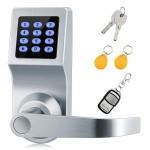 Xinda Smart Electronic Door Lock in Satin Nickel for $84.49