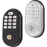 Yale Locks Assure Lock Push Button Door Security Bolt w/ Z-Wave (YRD216)